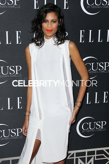 HOLLYWOOD, LOS ANGELES, CA, USA - APRIL 22: Aluna Francis at the 5th Annual ELLE Women In Music Concert Celebration presented by CUSP by Neiman Marcus held at Avalon on April 22, 2014 in Hollywood, Los Angeles, California, United States. (Photo by Xavier Collin/Celebrity Monitor)