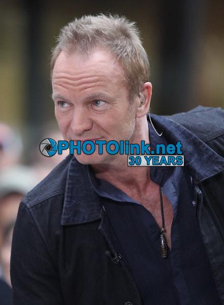 Sting, 2010, Photo By John Barrett/PHOTOlink