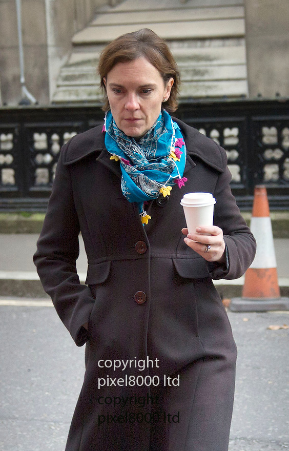 Pic shows: Ed Miliband wife seen near the High Court in London<br /> <br /> Justine Thornton. Justine Thornton (born 1970) is a British barrister, and the wife of Ed Miliband, the current Leader of the Labour Party. She is a former child actress who appeared in Dramarama and Hardwicke House.<br /> <br /> <br /> <br /> <br /> Pic by Gavin Rodgers/Pixel 8000 Ltd