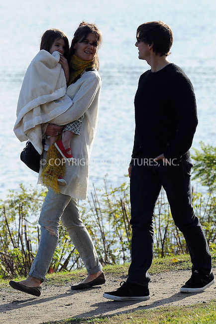 WWW.ACEPIXS.COM . . . . . ....October 10 2009, Boston....Actor Tom Cruise, Katie Holmes and daughter Suri have fun in a Boston park. Cruise is in Boston to shoot a movie. October 10 2009, Boston, MA....Please byline: KRISTIN CALLAHAN - ACEPIXS.COM.. . . . . . ..Ace Pictures, Inc:  ..(212) 243-8787 or (646) 679 0430..e-mail: picturedesk@acepixs.com..web: http://www.acepixs.com