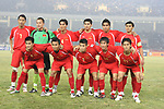 Players of Vietnam Team line up and pose for a photo prior to their AFF Suzuki Cup 2008 Semi-Finals 1st leg match between Vietnam and Singapore at My Dinh National Stadium on 17 December 2008, in Hanoi, Vietnam. Photo by Stringer / Lagardere Sports