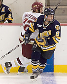 Dan Bertram, Mickey Rego - Boston College defeated Merrimack College 3-0 with Tim Filangieri's first two collegiate goals on November 26, 2005 at Kelley Rink/Conte Forum in Chestnut Hill, MA.