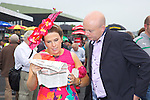 Checking out the runners and riders at Ladies Day at the Listowel Races on Friday were: Gillian and Patrick Kinsella