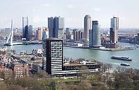 Nederland Rotterdam  26 maart 2018.  Hoogbouw op de Wilhelminapier.  Foto Berlinda van dam / Hollandse Hoogte