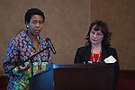 Xio Owens, Vickie Novak.7th annual BHA Convention at Embassy Suites Hotel Nov. 2-5, 2015.
