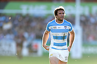 Marcelo Bosch of Argentina looks on during a break in play. Rugby World Cup Pool C match between Argentina and Georgia on September 25, 2015 at Kingsholm Stadium in Gloucester, England. Photo by: Patrick Khachfe / Onside Images