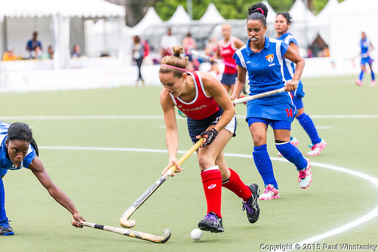 USA Women vs Cuba Women at Pan Am Games 2015 in Toronto, Ontario, Canada