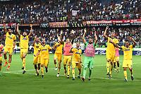 esultanza a fine gara Juventus end of match celebration<br /> Genova 26-08-2017 Stadio Marassi Calcio Serie A 2017/2018 Genoa - Juventus<br /> Juventus Foto Imagesport/Insidefoto