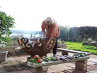 Joan Gussow's garden,