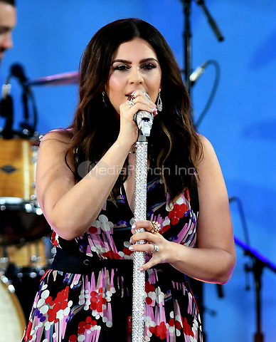 NEW YORK, NY - JULY 14: Hillary Scott from Lady Antebellum perform in Central Park on July 14, 2017 as part of Good Morning America Summer concert Series. Photo by John Palmer/MediaPunch