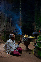 Shrine inside Preah Khan, Siem Reap