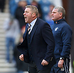 Ally McCoist bawling at his side as Ian Durrant watches on