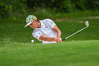 Rickie Fowler (USA) hits from the trap on 5 during round 2 of the 2019 Charles Schwab Challenge, Colonial Country Club, Ft. Worth, Texas,  USA. 5/24/2019.<br /> Picture: Golffile   Ken Murray<br /> <br /> All photo usage must carry mandatory copyright credit (© Golffile   Ken Murray)