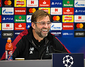 2018 UEFA Champions League Football Liverpool v Napoli Press Conference Dec 10th