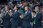 Unicaja Malaga coach Joan Plaza during Liga Endesa match between Movistar Estudiantes and Unicaja Malaga at Wizink Center in Madrid , Spain. March 04, 2018. (ALTERPHOTOS/Borja B.Hojas)