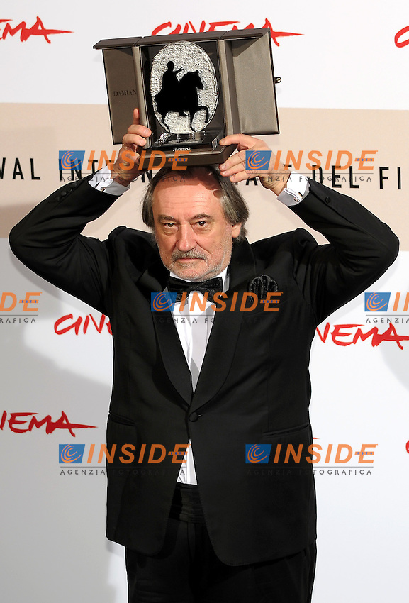 Bohdan Stupka<br /> Third edition of the Rome International film festival<br /> Roma 31/10/2008 <br /> Awards Photocall - Best Actor<br /> Photo Andrea Staccioli Insidefoto