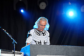 URIAH HEEP - keyboardist Phil Lanzon -  performing live on Day One of the Ramblin' Man Fair in Mote Park Maidstone Kent UK - 23 Jul 2016. Photo credit: Zaine Lewis/IconicPix