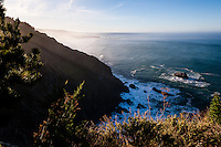 United States, California. Ragged Point is a famous ocean view spot along the Central Coast, with a very dramatic coastline.