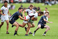 Condor Rugby Sevens tournament at Sacred Heart College in Auckland, New Zealand on Saturday 1 December 2018. Photo: Simon Watts / lintottphoto.co.nz