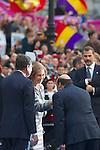 OVIEDO.ESPAÑA.CASA REAL.<br /> Premios Prícipe de Asturias , a 23/10/2013.<br /> En la imagen :<br /> Dña.Sofía