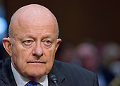 "Former Director of National Intelligence of the United States James R. Clapper testifies before the US Senate Committee on the Judiciary Subcommittee on Crime and Terrorism hearing titled ""Russian Interference in the 2016 United States Election"" on Capitol Hill in Washington, DC on Monday, May 8, 2017.<br /> Credit: Ron Sachs / CNP<br /> (RESTRICTION: NO New York or New Jersey Newspapers or newspapers within a 75 mile radius of New York City)"