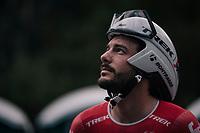 Julien Bernard (FRA/Trek-Segafredo) prerace<br /> <br /> UCI MEN&lsquo;S TEAM TIME TRIAL<br /> Ötztal to Innsbruck: 62.8 km<br /> <br /> UCI 2018 Road World Championships<br /> Innsbruck - Tirol / Austria