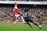 Jeremy Ngakia of West Ham United clears during Arsenal vs West Ham United, Premier League Football at the Emirates Stadium on 7th March 2020