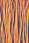 Blurred abstract of river reeds with blues, purples, and golds