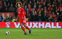 Ethan Ampadu of Wales in action during the international friendly soccer match between Wales and Panama at Cardiff City Stadium, Cardiff, Wales, UK. Tuesday 14 November 2017.
