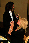 September 11, 2009:  Kenny G and Loni Anderson at the 'Rhythm on the Vine' charity dinner to benefit Shriners Children Hospital held at  the South Coast Winery in Temecula, California..Photo by Frank Picard/Milestone Photo