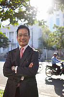 Son Nam Nguyen, managing partner of Vietnam Capital Partners..Kevin German / LUCEO