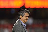 SAO PAULO SP, 05 Junho 2013 -  SAO PAULO X GOIAS -   tecnico Ney Franco   durante partida válida pela quarta rodada do campeonato brasileiro de 2013 no Estádio do Morumbi em São Paulo, nesta quarta , 06. (FOTO: ALAN MORICI / BRAZIL PHOTO PRESS).
