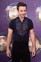 Joe McFadden at the launch of the new series of &quot;Strictly Come Dancing&quot; at New Broadcasting House, London, UK. <br /> 28 August  2017<br /> Picture: Steve Vas/Featureflash/SilverHub 0208 004 5359 sales@silverhubmedia.com
