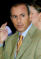 Matt Lauer 2002<br /> Photo By John Barrett/PHOTOlink.net / MediaPunch