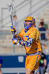 Costa Mesa, CA 03/08/14 - Kyle Sieglein (UCSB #27) in action during the MCLA Loyola Marymount vs UC Santa Barbara men's lacrosse game as part of the 2014 Pacific Shootout.  UCSB defeated LMU 12-7 at Le Bard Stadium.