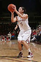 STANFORD, CA - JANUARY 14:  Michelle Harrison of the Stanford Cardinal during Stanford's 80-43 win over the Washington State Cougars on January 14, 2009 at Maples Pavilion in Stanford, California.