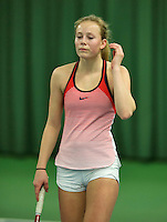 Rotterdam, The Netherlands, March 11, 2016,  TV Victoria, , NOJK 12/16 years, Daphne Haverkamp<br /> Photo: Tennisimages/Henk Koster