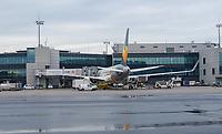 Maschine von Condor am Frankfurter Flughafen - Frankfurt 16.10.2019: Eichwaldschuele Schaafheim am Frankfurter Flughafen