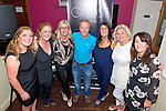 Killlarney Musical Society committee L-R Ann Rohan, Diane O'Sullivan, Paddie Keogh, Donnacha Galvin, Maria O'Sullivan Slattery, Orna Cleary O'Shea and Annette Cooper at the launch of their new musical Ghost in the Corkerys Bar, Killarney last Friday night.