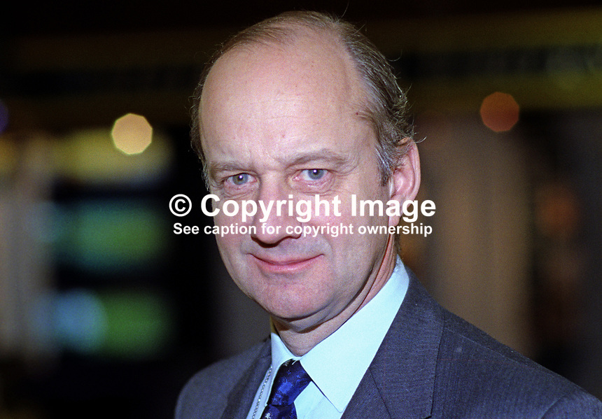 Sir John Cope, MP, Conservative Party, UK, taken annual conference October 1992. 19921057JC..Copyright Image from Victor Patterson, 54 Dorchester Park, Belfast, UK, BT9 6RJ..Tel: +44 28 9066 1296.Mob: +44 7802 353836.Voicemail +44 20 8816 7153.Skype: victorpattersonbelfast.Email: victorpatterson@me.com.Email: victorpatterson@ireland.com (back-up)..IMPORTANT: If you wish to use this image or any other of my images please go to www.victorpatterson.com and click on the Terms & Conditions. Then contact me by email or phone with the reference number(s) of the image(s) concerned.