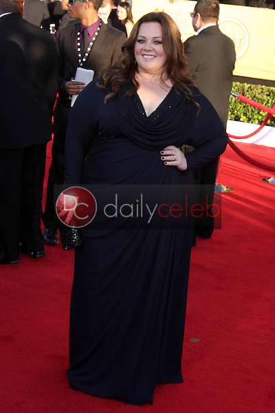 Melissa McCarthy<br /> at the 18th Annual Screen Actors Guild Awards Arrivals, Shrine Auditorium, Los Angeles, CA 01-29-12<br /> David Edwards/DailyCeleb.com 818-249-4998