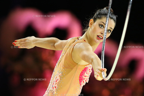 Anna Sebkova,<br /> OCTOBER 2, 2015 - Rhythmic Gymnastics : <br /> AEON CUP 2015 Worldwide R.G. Club Championships <br /> at Tokyo Metropolitan Gymnasium, Tokyo, Japan. <br /> (Photo by Shingo Ito/AFLO SPORT)
