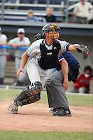 July 9th 2007:  Frank Lonigro of the Staten Island Yankees, Class-A affiliate of the New York Yankees, at Dwyer Stadium in Batavia, NY.  Photo by:  Mike Janes/Four Seam Images