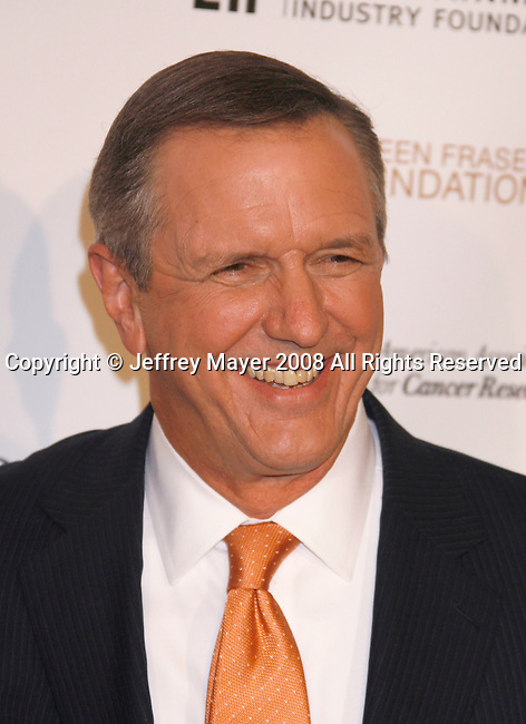 HOLLYWOOD, CA. - September 05: ABC World News Tonight anchor Charles Gibson  arrives at Stand Up For Cancer at The Kodak Theatre on September 5, 2008 in Hollywood, California.