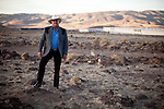 Lance Gilman poses for a portrait in his  business park in McCarran, Nev., November 26, 2012.