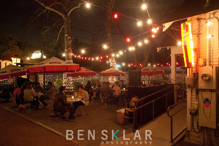 Justine's in East Austin is a French style brasserie open into the early morning hours...Ben Sklar for VICE Magazine