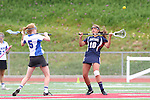 Redondo Beach, CA 05/14/11 - Alena Riggs (St Margaret #10) and unidentified Cate player in action during the 2011 Division 2 US Lacrosse / CIF Southern Section Championship game between Cate School and St Margaret.