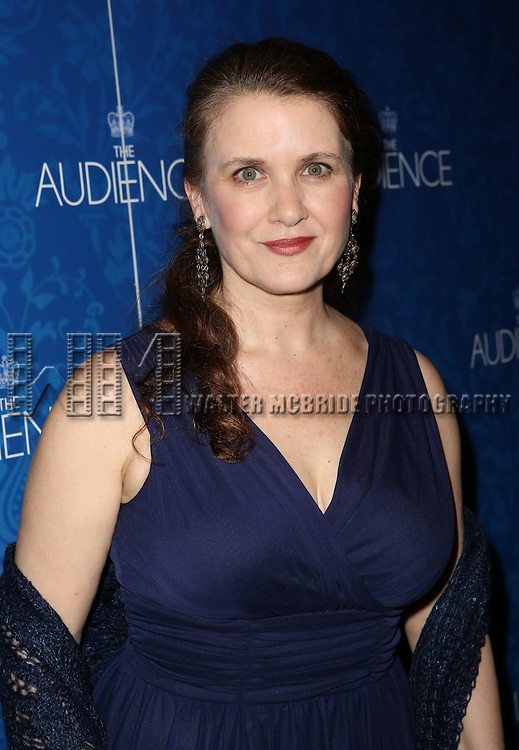 Tracy Sallows attends the opening night after party for the Broadway Opening of 'The Audience' at Urbo NYC on March 8, 2015 in New York City.