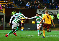 5th February 2020; Fir Park, Motherwell, North Lanarkshire, Scotland; Scottish Premiership Football, Motherwell versus Celtic; Callum McGregor of Celtic makes it 3-0 in the 75th minute