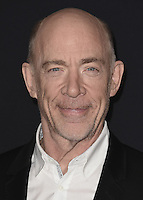 "HOLLYWOOD, CA - OCTOBER 10:  J.K. Simmons at the Los Angeles world premiere of ""The Accountant"" at TCL Chinese Theater on October 10, 2016 in Hollywood, California. Credit: mpi991/MediaPunch"